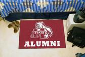 "Mississippi State Bulldogs Alumni Starter Rug 19""x30"""
