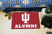 """Indiana Hoosiers Alumni Starter Rug 19""""x30"""""""