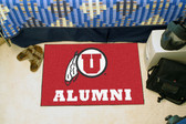 "Utah Utes Alumni Starter Rug 19""x30"""