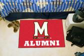 """Maryland Terrapins Alumni Starter Rug 19""""x30"""""""