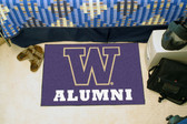 "Washington Huskies Alumni Starter Rug 19""x30"""