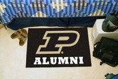 "Purdue Boilermakers 'Train' Alumni Starter Rug 19""x30"""