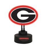 Georgia Bulldogs Team Logo Neon Lamp