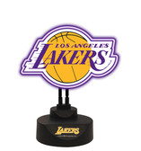 Los Angeles Lakers Team Logo Neon Lamp LAKERS