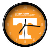 Tennessee Volunteers Black Rim Clock - Basic