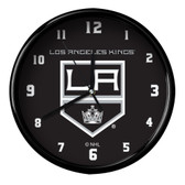 Los Angeles Kings Black Rim Clock - Basic