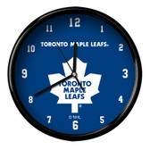 Toronto Maple Leafs Black Rim Clock - Basic
