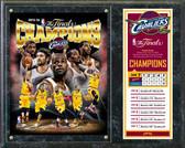 Cleveland Cavaliers 2016 NBA Champions Composite Plaque