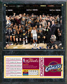 Cleveland Cavaliers 2016 NBA Champions Celebration Down Plaque
