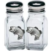 Bass Salt & Pepper Shakers