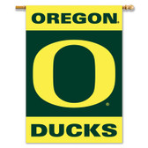 "Oregon Ducks 2-Sided 28"" X 40"" Banner W/ Pole Sleeve"