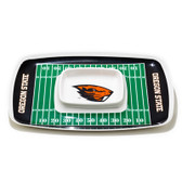 Oregon State Beavers Chip & Dip Tray