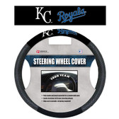 Kansas City Royals Poly-Suede Steering Wheel Cover