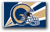 Los Angeles Rams 3 Ft. X 5 Ft. Flag W/Grommets