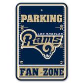 Los Angeles Rams Plastic Parking Sign - Fan Zone