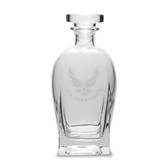 US Air Force Deep Etched 23.75 Oz Rossini Decanter