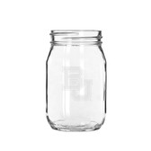 Baylor Bears Deep Etched 16 oz. Old Fashion Drinking Jar
