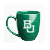 Baylor Bears 15 oz. Deep Etched Green Bistro Mug