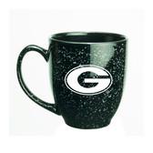 Georgia Bulldogs 15 oz. Deep Etched Black Bistro Mug