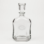 Georgia Bulldogs Deep Etched Whiskey Decanter