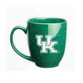 Kentucky Wildcats 15 oz. Deep Etched Green Bistro Mug