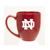 Notre Dame Fighting Irish 15 oz. Deep Etched Red Bistro Mug