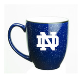 Notre Dame Fighting Irish 15 oz. Deep Etched Cobalt Bistro Mug