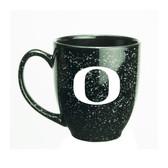 Oregon Ducks 15 oz. Deep Etched Black Bistro Mug