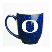 Oregon Ducks 15 oz. Deep Etched Cobalt Bistro Mug