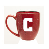 Columbia University 15 oz. Deep Etched Red Bistro Mug