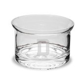 Dartmouth College 5 Inch Deep Etched Flair Crystal Candy Bowl