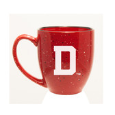 Dartmouth College 15 oz. Deep Etched Red Bistro Mug
