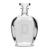 Dartmouth College 23.75 oz.  Deep Etched Bottecelli Decanter