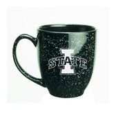 Iowa State Cyclones 15 oz. Deep Etched Black Bistro Mug