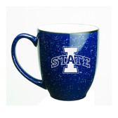 Iowa State Cyclones 15 oz. Deep Etched Cobalt Bistro Mug