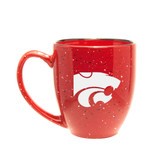 Kansas State Wildcats 15 oz. Deep Etched Red Bistro Mug