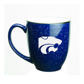 Kansas State Wildcats 15 oz. Deep Etched Cobalt Bistro Mug