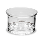 Memphis Tigers 5 inch Deep Etched Crystal Candy Bowl