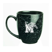 Memphis Tigers 15 oz. Deep Etched Black Bistro Mug