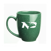 North Dakota Sioux 15 oz. Deep Etched Green Bistro Mug