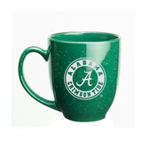 Alabama Crimson Tide 15 oz. Deep Etched Green Bistro Mug