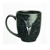 Arizona State Sun Devils 15 oz. Deep Etched Black Bistro Mug