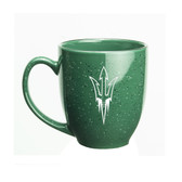 Arizona State Sun Devils 15 oz. Deep Etched Green Bistro Mug