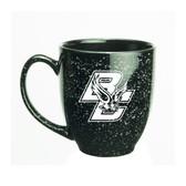 Boston College 15 oz. Deep Etched Black Bistro Mug