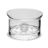"Cal State Fullerton 5"" Deep Etched Flair Crystal Candy Bowl"