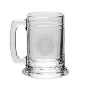 Cal State Fullerton Deep Etched Colonial Deep Etched Beer TANKARD