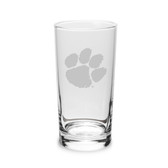 Clemson Tigers 10 oz. Deep Etched Highball Glass
