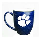 Clemson Tigers 15 oz. Deep Etched Cobalt Bistro Mug
