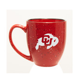Colorado Buffaloes 15 oz. Deep Etched Red Bistro Mug