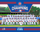 Chicago Cubs 2016 World Series Champions Team Sit Down 8x10 Photo